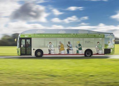 Bristol, il primo bus alimentato dai bisogni umani