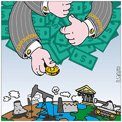 Le grandi multinazionali evadono il fisco