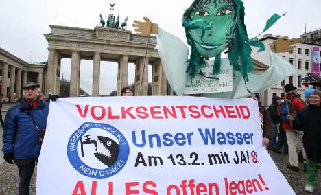 Acqua pubblica, Berlino dice 'sì'. In Italia si pensa alla data