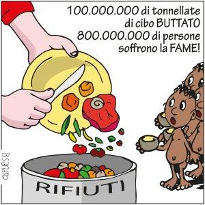 La mobilitazione del web contro gli sprechi alimentari