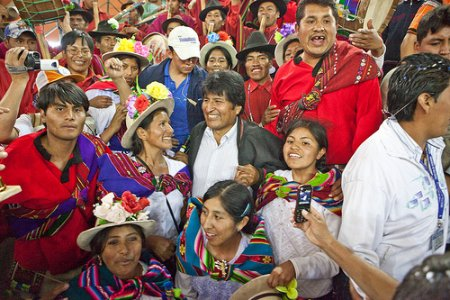 """Evo Morales: """"Il capitalismo è il cancro di Madre Terra"""""""