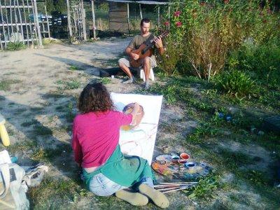 L'orto-giardino biodinamico tra bellezza, musica e arte
