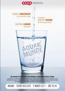 Aquae Mundi. L'acqua è un bene comune