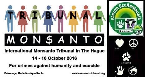 A ottobre il Tribunale Monsanto giudica la multinazionale dell'agrobusiness