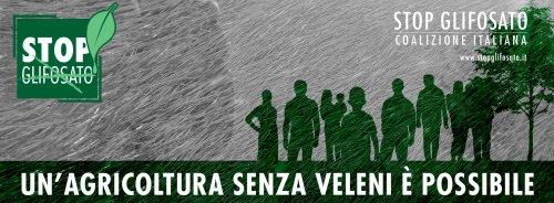 Sabato 13 maggio giornata europea contro il glifosato