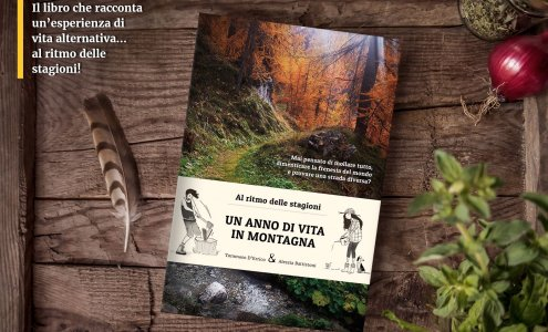 Dalla metropoli all'autoproduzione in montagna: in un libro la storia di Tommaso e Alessia