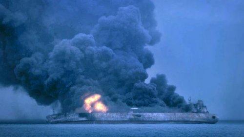 Un milione di barili di petrolio affondano nel Mar della Cina