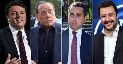 Il M5Stelle prima forza politica del paese, crolla la fiducia nel Pd, la Lega supera Forza Italia