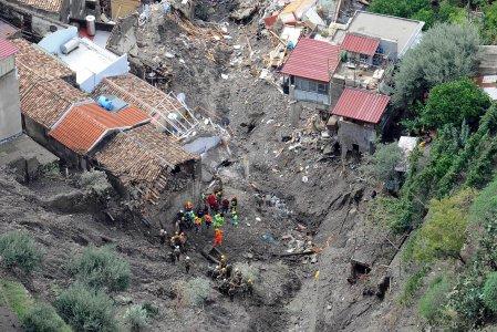 Frane e alluvioni: il 91% dei Comuni italiani a rischio