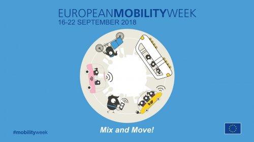 Dal 16 al 22 settembre settimana europea della mobilità