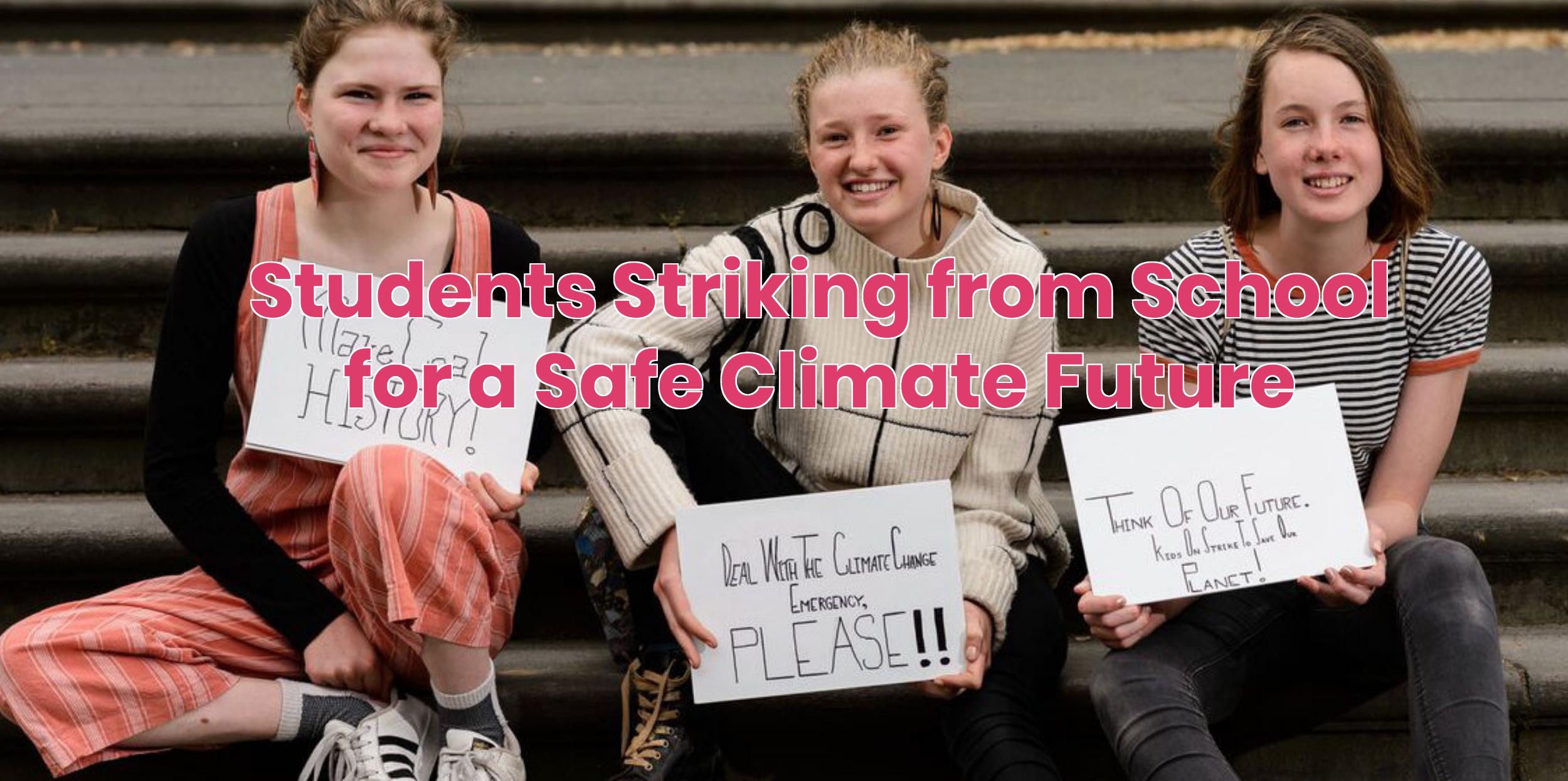 Studenti per il clima: cresce il movimento nel mondo. E si sciopera anche in Italia