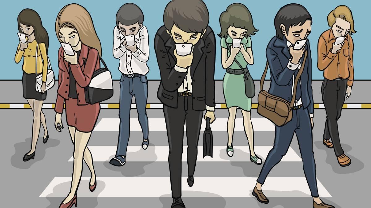 Diventeremo tutti zombie con il cellulare in mano?