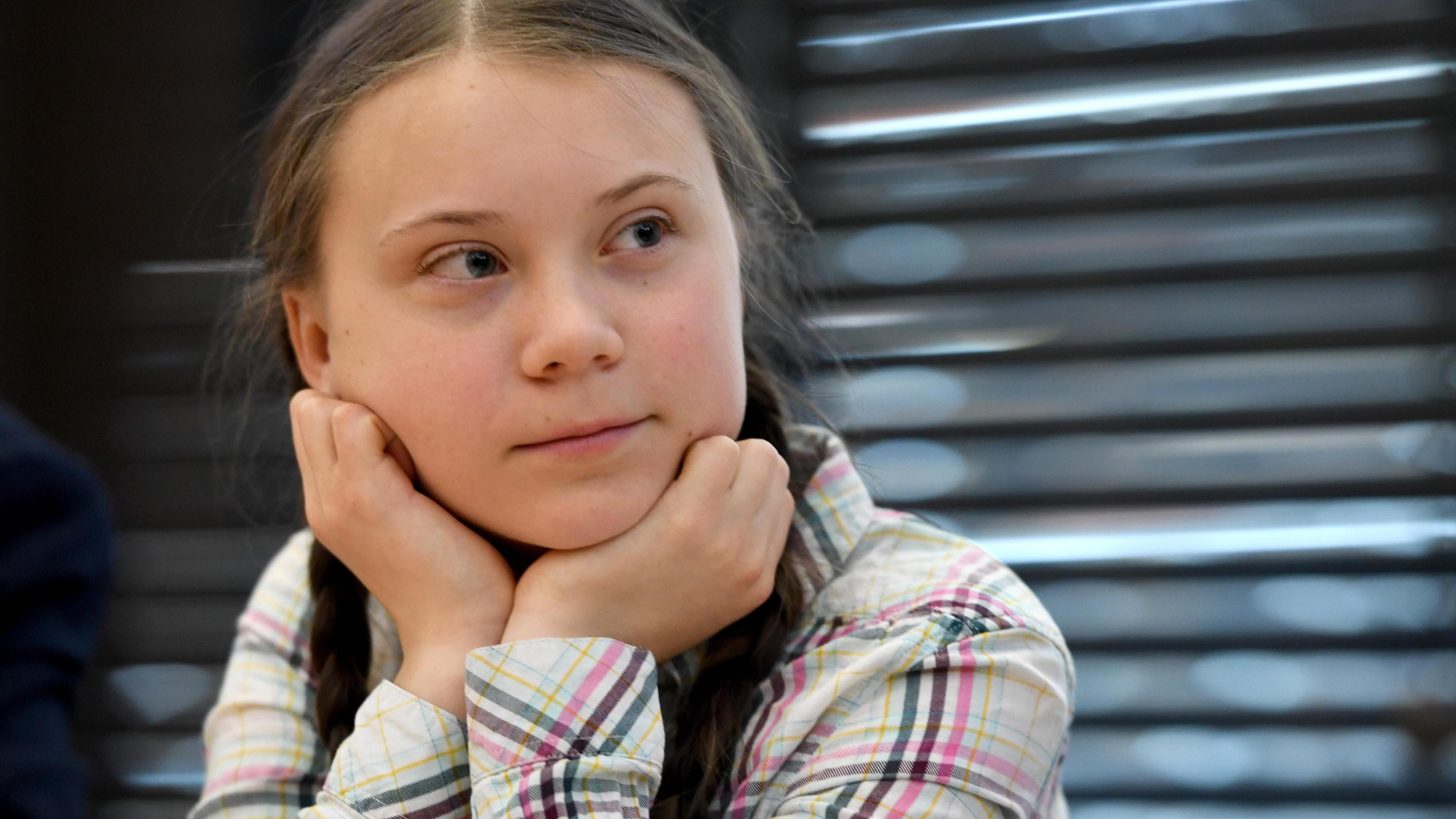 Greta Thunberg nominata