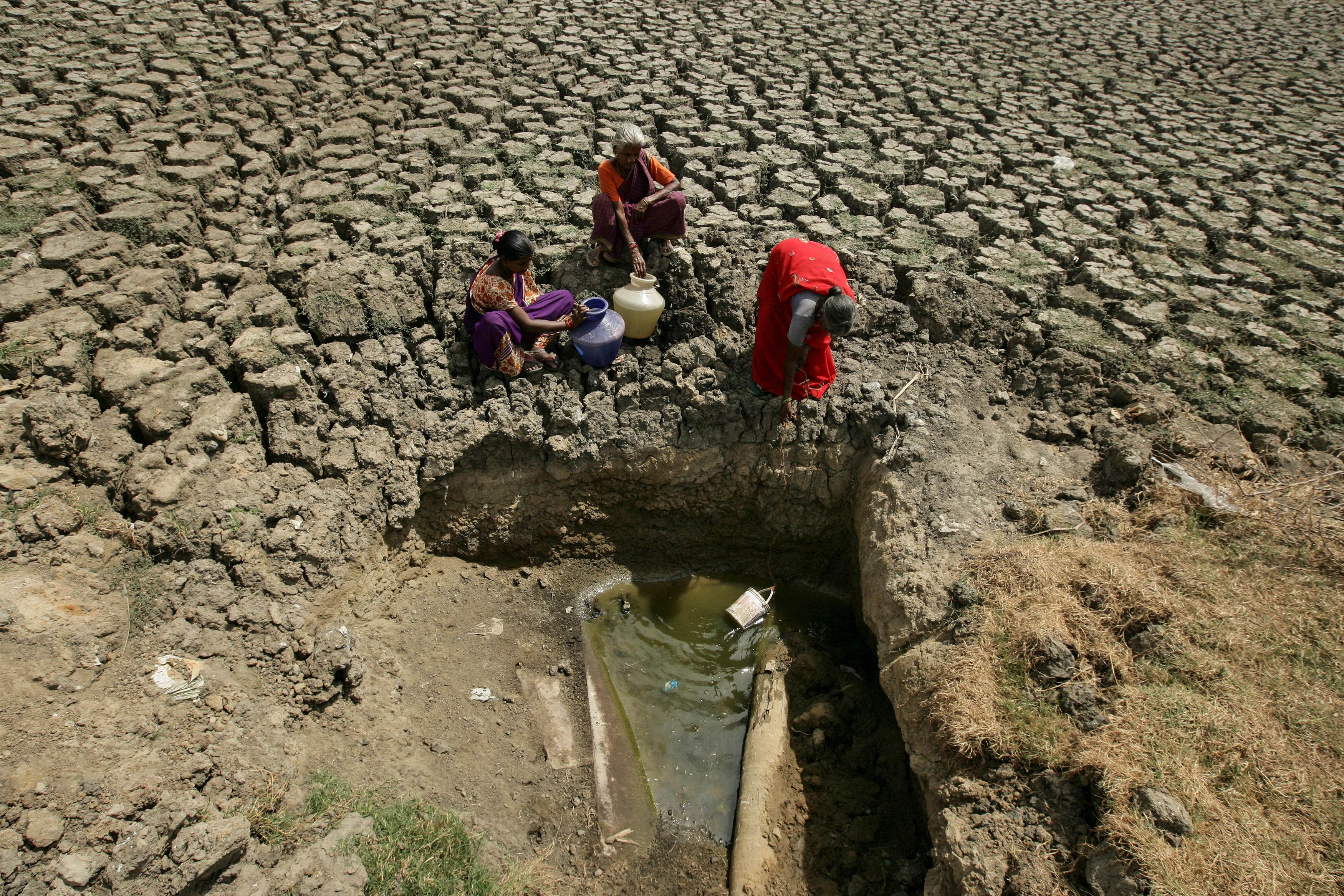 India, pianeta Terra: senza più acqua