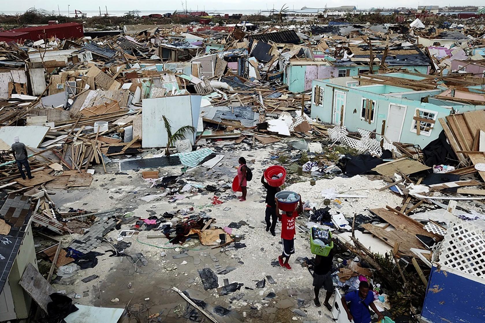 Le Bahamas devastate dall'uragano. Ma può accadere ovunque...