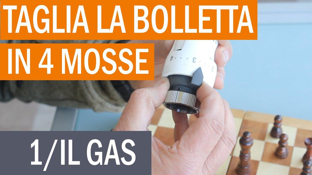 Taglia la bolletta in 4 mosse: iniziamo dal gas!