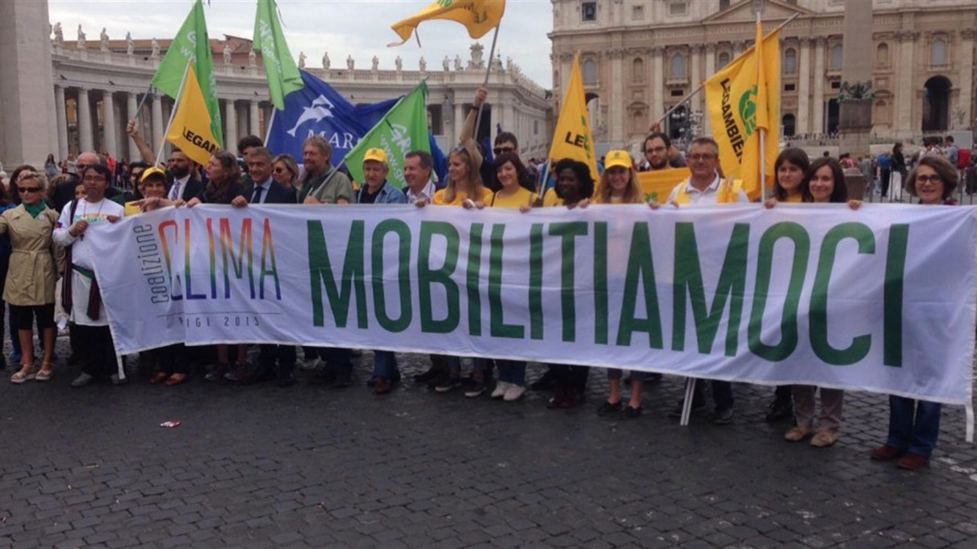 Le 200 organizzazioni di Coalizione Clima: «Ecco il modello di sviluppo che vogliamo»