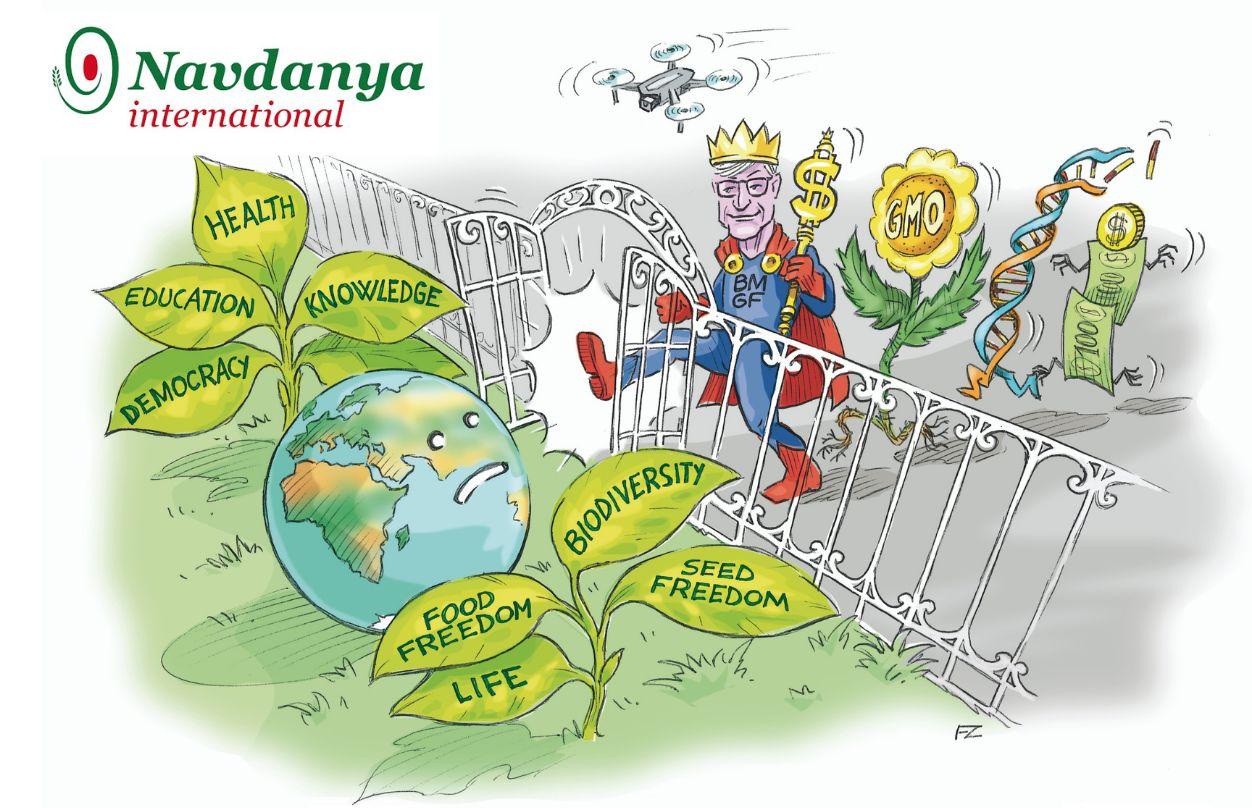 Navdanya: «L'impero del filantro-capitalista Bill Gates mette a rischio il futuro del nostro pianeta»