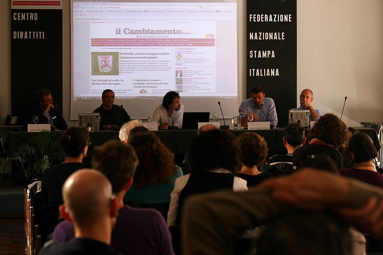 Dal virtuale al reale, la diretta web dal convegno di Roma