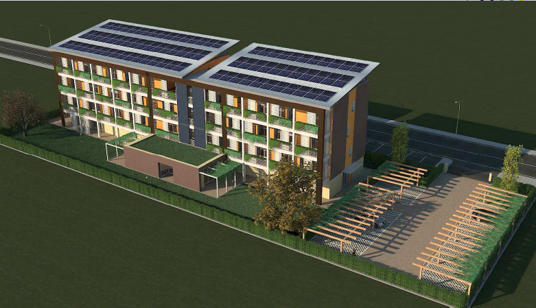 Ufficio Verde Pubblico Fidenza : L altro abitare un condominio solidale a fidenza seconda parte