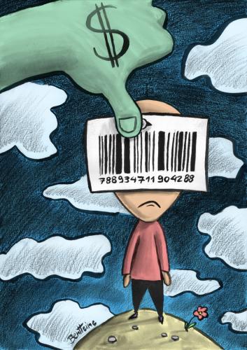 Dai supermarket ai social network 'esistenze in vendita'