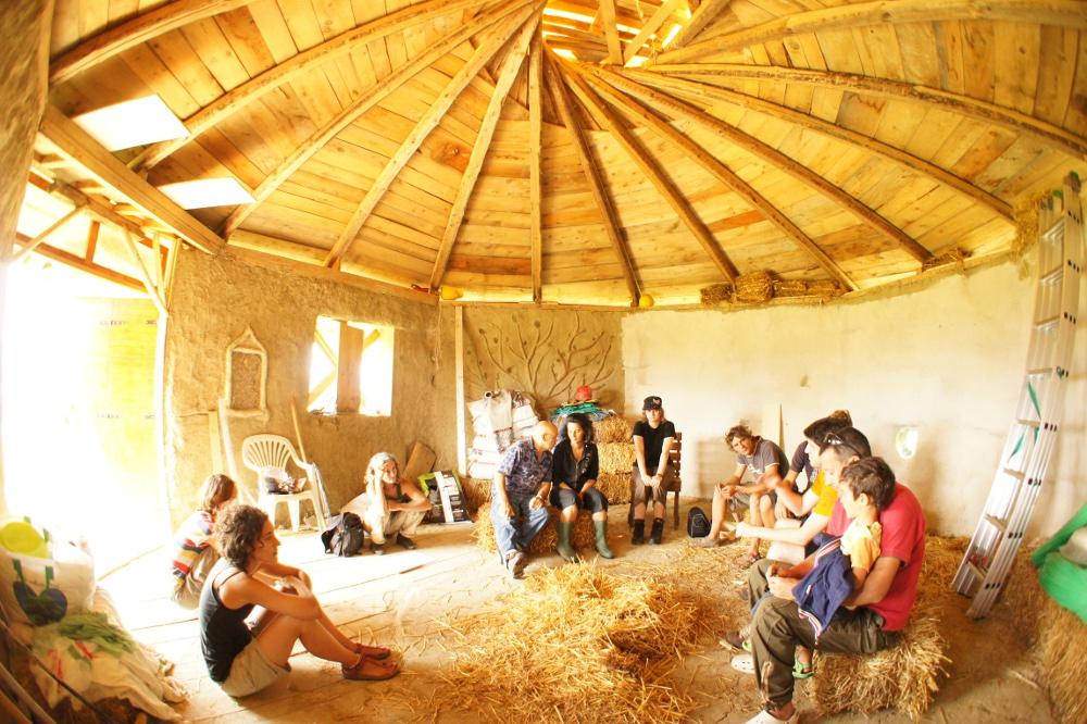 Costruire un 'tetto verde', l'esperienza del cantiere aperto di Fortunago