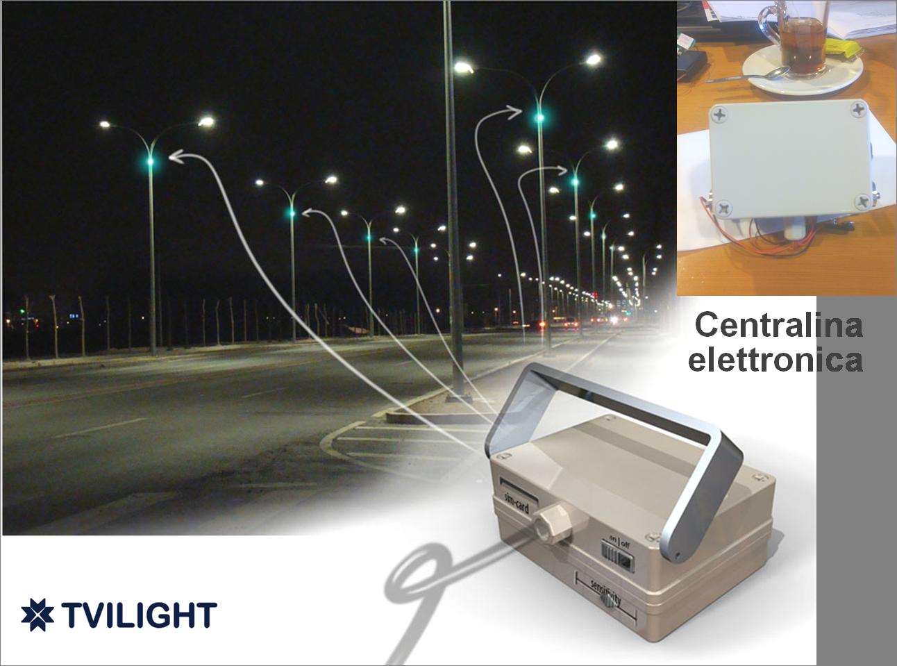 Illuminazione stradale intelligente per risparmiare l'80% di energia