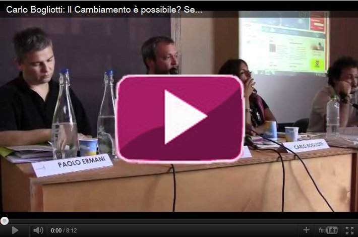 Carlo Bogliotti a Terra Futura: l'alimentazione, l'agricoltura e la comunità 2/2
