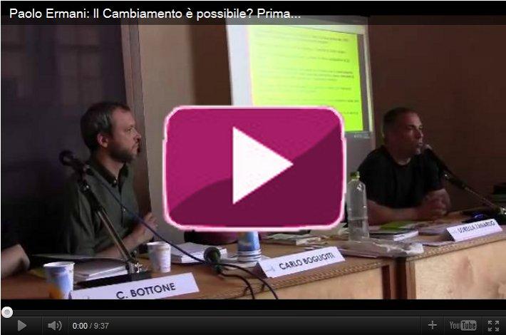 Paolo Ermani a Terra Futura 2011 - Ambiente, energia e occupazione 1/2