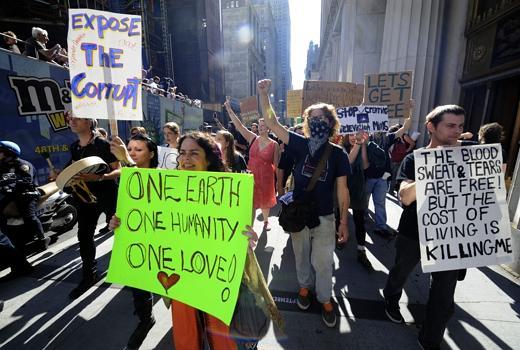 Occupy Wall Street: la protesta degli indignati si estende in rete