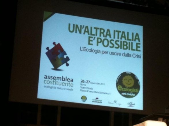 Un'altra Italia? Nasce 'Ecologisti e Reti Civiche'