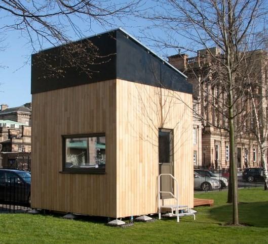 La 'Casa Cubo' di Mike Page: massima sostenibilità in poco spazio