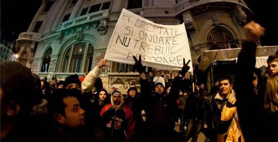 Romania in rivolta contro le misure anti crisi del Governo