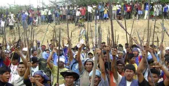Amazzonia peruviana: la teoria di Garcìa e le rivolte indigene