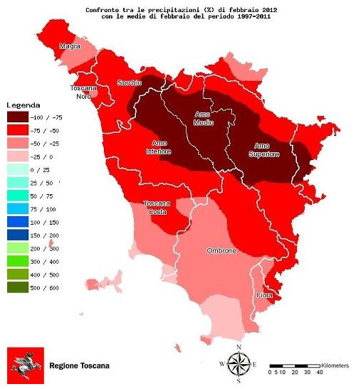 In Toscana non piove più? Sintomi locali di un'emergenza globale