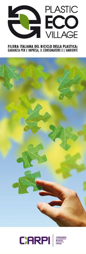 Plastic Eco Village, presentata la filiera italiana della plastica