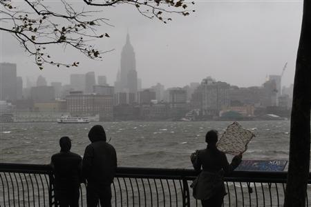 Uragano Sandy.