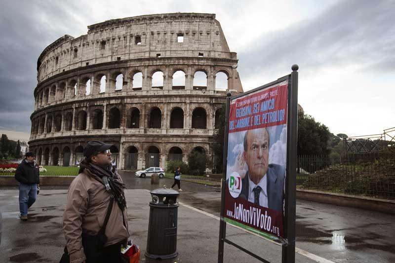 """""""Io non vi voto"""": Greenpeace sfida la politica fossile"""