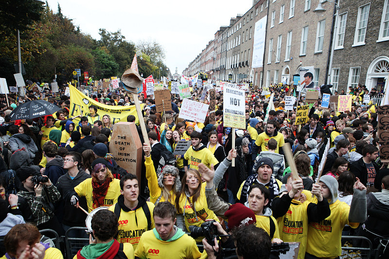 L'Irlanda e la via d'uscita dalla crisi: rivoluzione