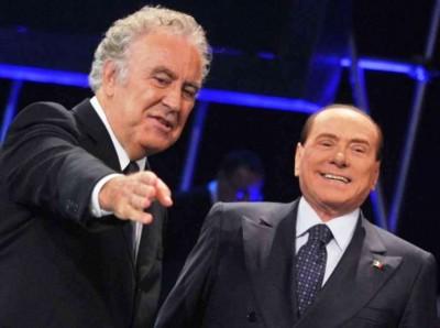 Berlusconi si rialza... grazie a Santoro e televisione