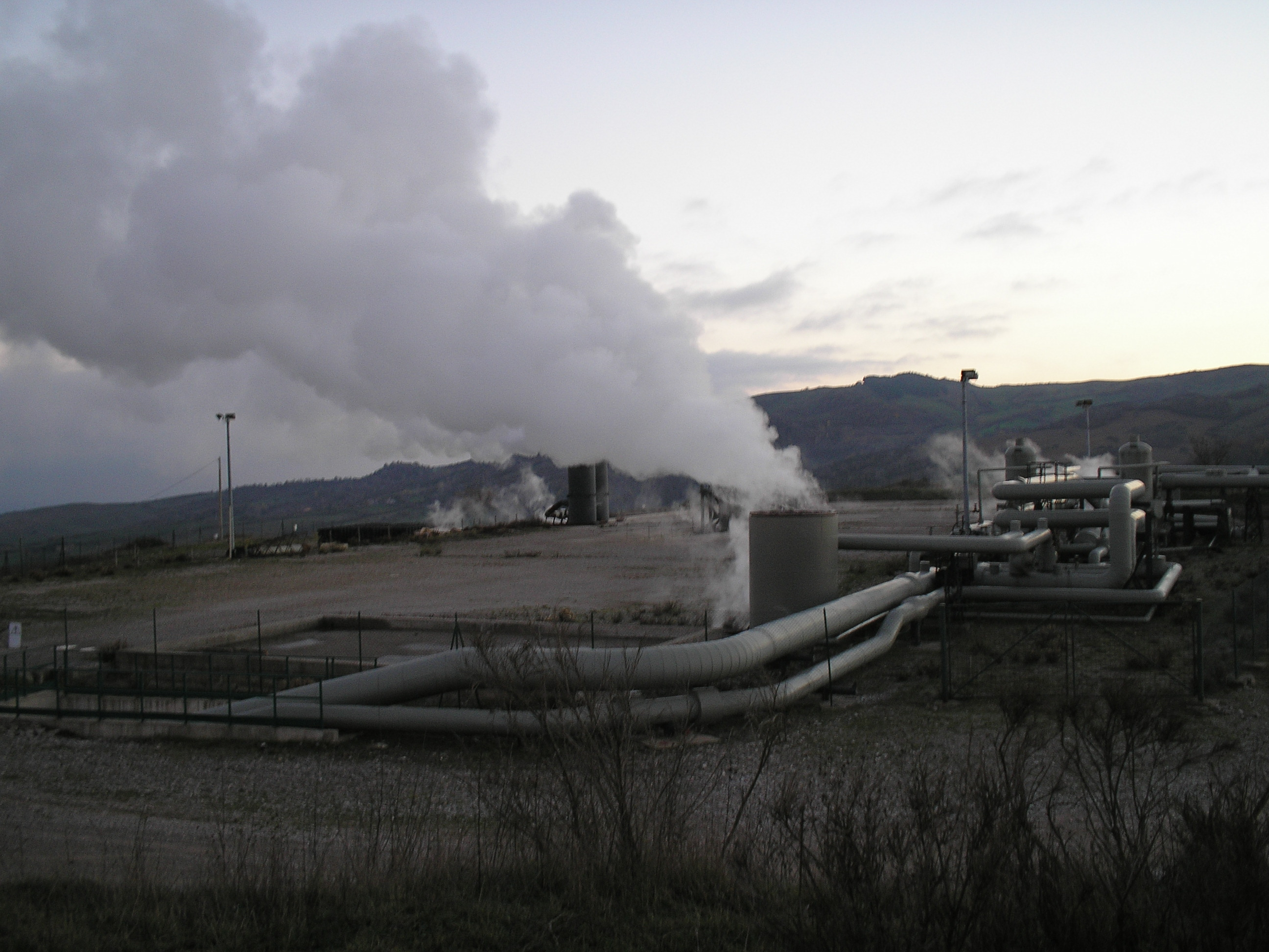 Lo sfruttamento geotermoelettrico dell'Amiata