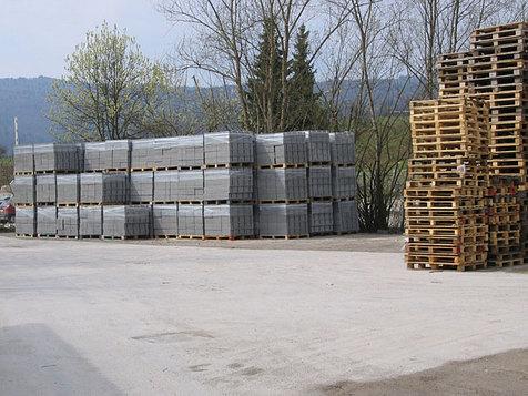 Le ceneri del carbone di Civitavecchia nel cemento di Bassano Romano