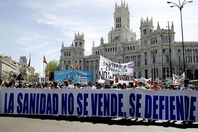 Madrid: in 900mila dicono no alla privatizzazione della sanità