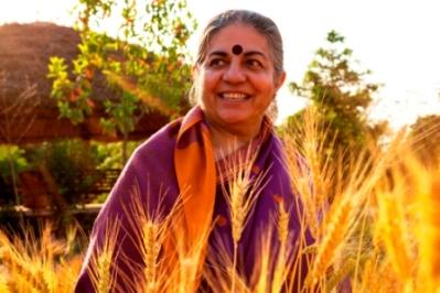 """Vandana Shiva: """"i brevetti sui semi minacciano la libertà"""""""