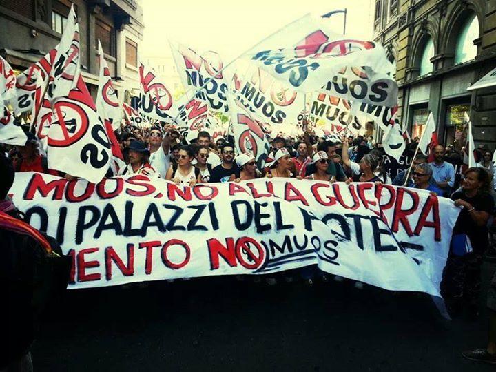 Continua la mobilitazione pacifica dei No Muos