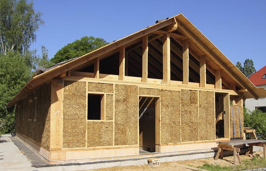 Un mondo di case naturali e biodegradabili for Come stimare i materiali da costruzione per la costruzione di case