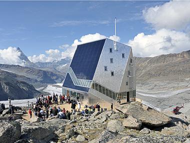 Monte Rosa, un nuovo rifugio campione di  sostenibilità ed efficienza