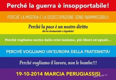 In marcia per la pace, la Perugia-Assisi