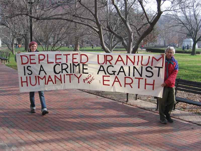 Morire di uranio impoverito