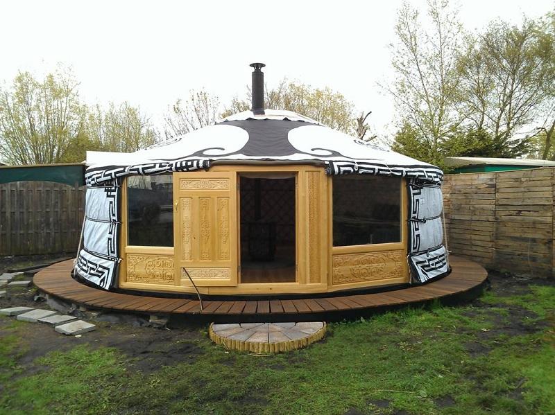 Yurta un modo ecologico di abitare la casa ma non in italia for Articoli di design per la casa